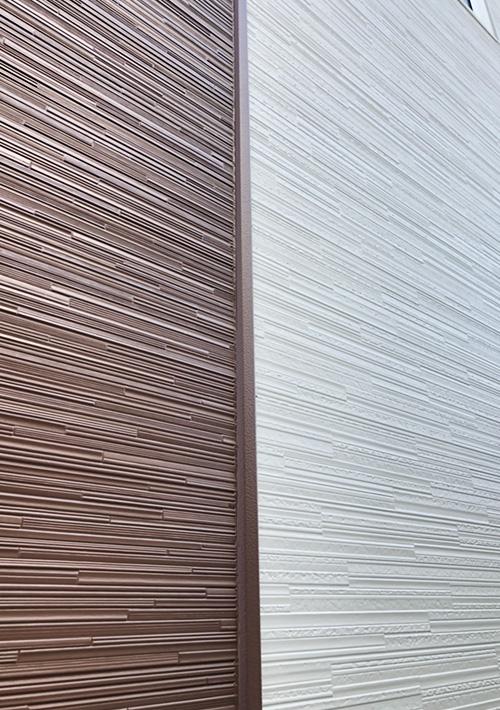 金属サイディング重ね張り 屋根塗装 施工後4