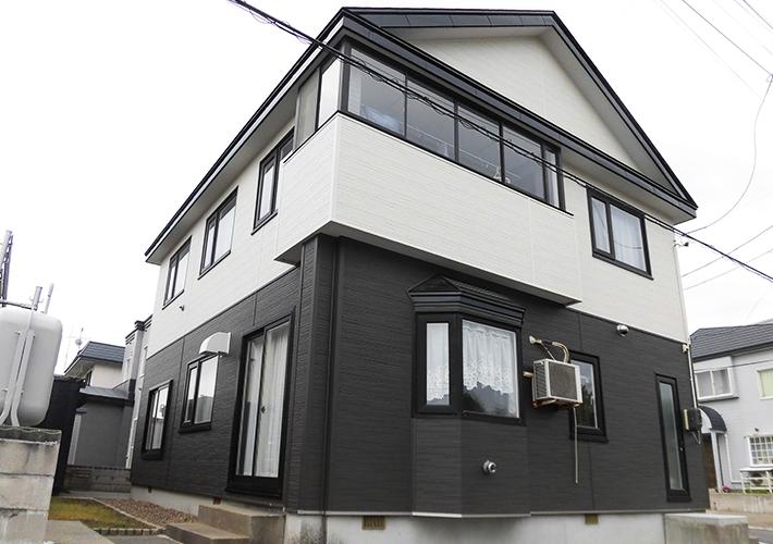 青森市 金属サイディング重ね張り・屋根塗装工事 施工事例4